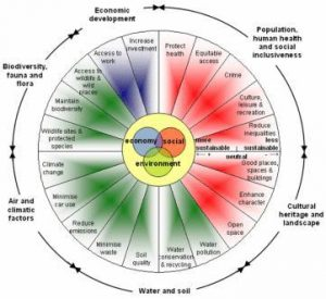 Wheel of sustainability