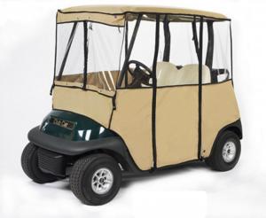 Golf cart wind screen